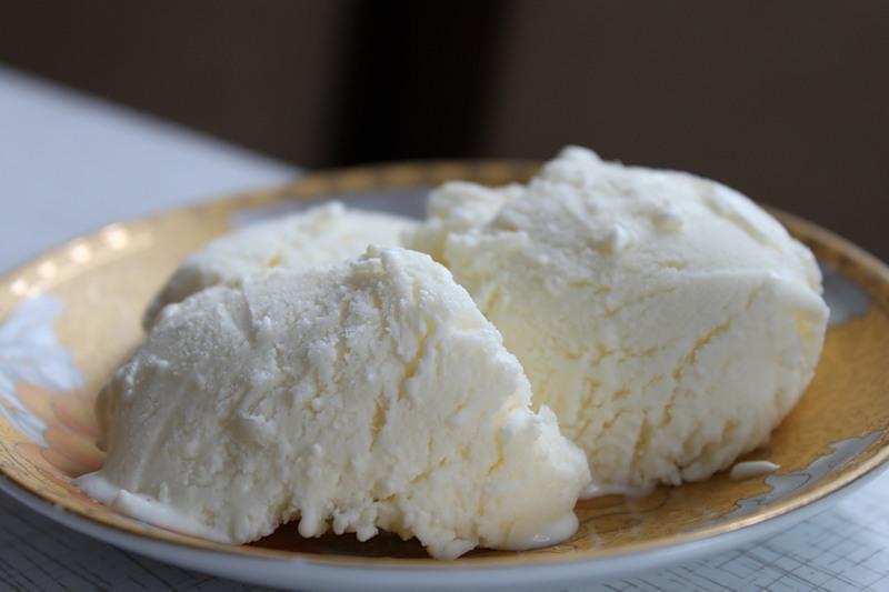 мороженое пломбир домашнее